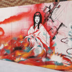 Mural about Japan (Dixon & Aleix Gordo Hostau in Barcelona)