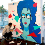 Live painting for Autodesk (Barcelona, SP)